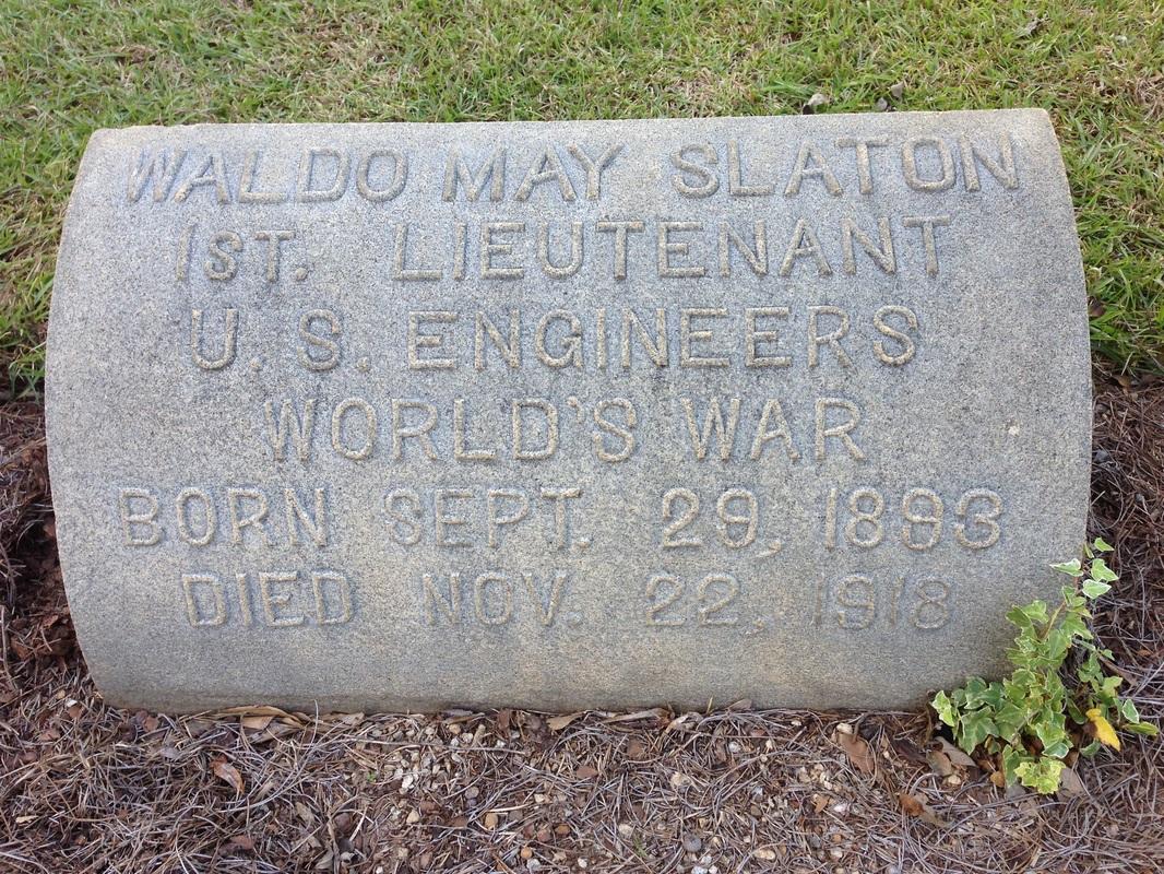 Waldo's gravesite in historic Oakland Cemetary in Atlanta, GA
